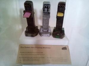 Mesin Cetak Tiket Kereta yang Digunakan pada Zaman Dahulu