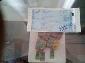 Perbandingan Tiket Kereta Dulu dan Sekarang