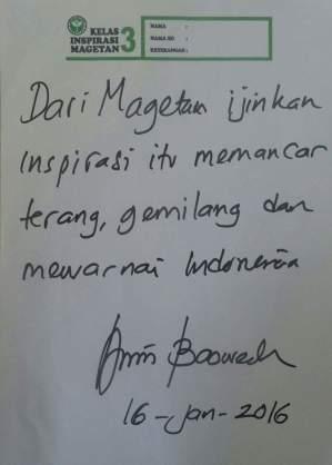 Pesan Pak Anies untuk Kelas Inspirasi Magetan (2)